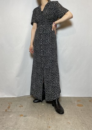 overall pattern one-piece
