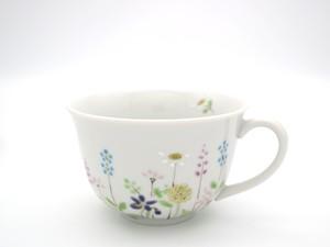 春の野花 カップソーサー