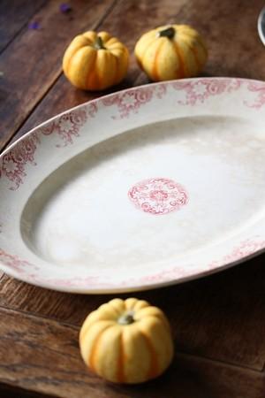 U&C Sarreguemines オーバル皿