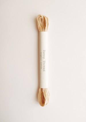 Sunny thread #10 オーガニックコットン 刺繍糸