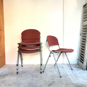 """""""Car Katwijk"""" 80's Vintage Stacking Chair B オランダ"""