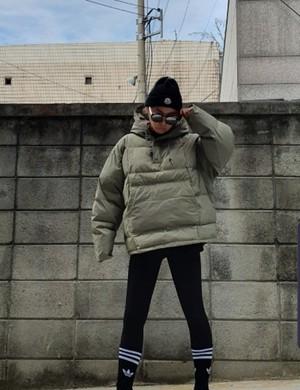フードぺディング アウター ジャンパー 韓国ファッション