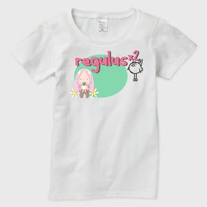 regulus t001 レディース Tシャツ白