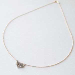 Hex necklace - S zigzag