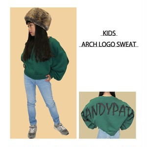 KIDS ARCH LOGO SWEAT ※大人も着用可