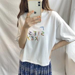 刺繍デザインTシャツ(elie)