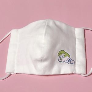 ニューりかちゃん(パンダ)ハンドメイドマスク