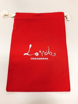 Love〜ai〜巾着・赤