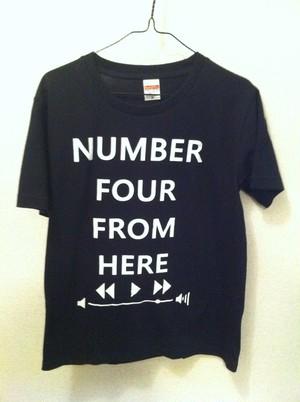 コントロールバーTシャツ (ブラック)