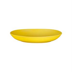 西海陶器 波佐見焼 「コモン」 オーバルボウル 皿 230mm イエロー 18307