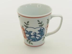 花鳥山水マグカップ