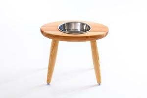 「Coron 」大型犬 食器台  シングル