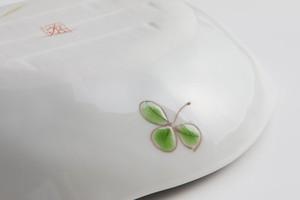 お届けは1月20日頃となります。 九谷フェス だえん小鉢 しろつめ草SALE-10