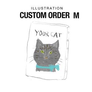 送料無料 CUSTOM ORDER キャンバスアート 受注製作 サイズM( W227×H158×D18mm)