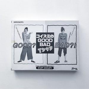 90s knorr 小泉今日子 GOOD★BAD ロンT  グレー レッド 表記 なし (M〜L位)