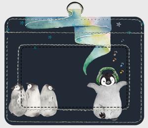 選べるカラー*パスケース《ペンギン》