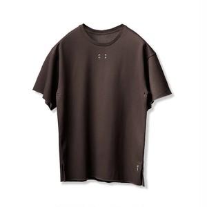 【ASRV】フレンチテリーオーバーサイズTシャツ - Dark Earth