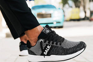 (SOLDOUT)ボーラー / BALR. / スニーカー / FAST BREAK SNEAKERS / BLACK