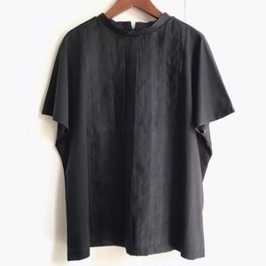 【LILASIC】タック布帛切替Tシャツ チャコール Mサイズ【リラシク by ノースオブジェクト】