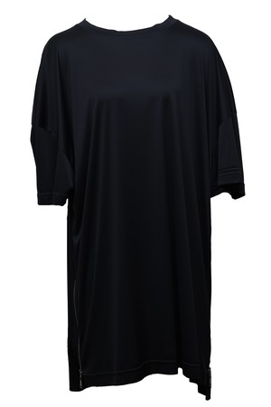 Side Zip T-Shirts (Black)