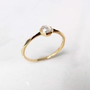 Rose Cut Diamond Ring(R283-YD)