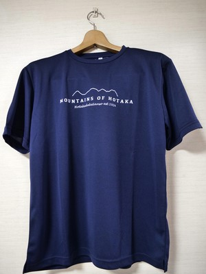 【残りS・Mサイズ】【穂高連峰 MOUNTAINS OF  HOTAKA_ネイビー】Tシャツ