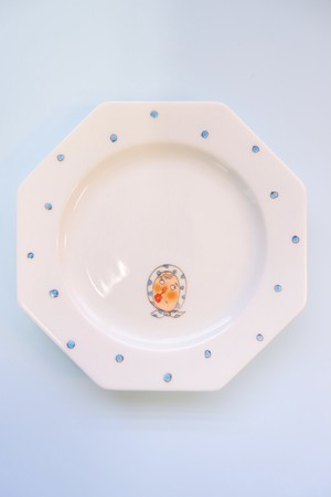 hyottoko ojisan (bl) / plate(15cm)