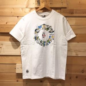 "CHUMS ""Crazy Weekend T-shirt"" クレイジーウィークエンド Tシャツ 半袖Tシャツ 2019 SS CH01-1481"