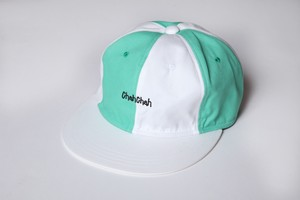 CC PANEL BASEBALL CAP-GREEN WHITE