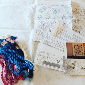 スウェーデン手工芸協会 ヴィンテージ刺繍キット