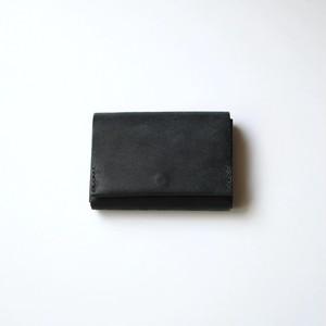 flat wallet - bk - プエブロ