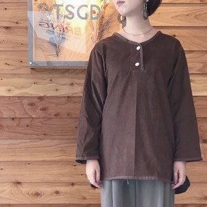 TSGD Cords PulloverShirts Brown