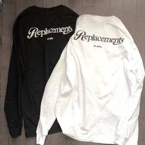 REPLACEMENTS x kit gallery L/S TEE