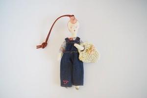 【petit bois】香りドールチャーム(DIYガール)