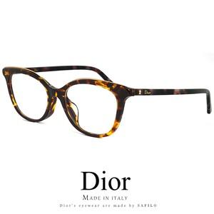 Dior レディース メガネ montaigne49f-086 眼鏡 アジアンフィット ディオール Christian Dior クリスチャンディオール キャットアイ ウェリントン型