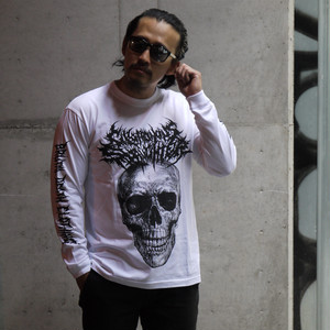The Defleshed Long Sleeve White