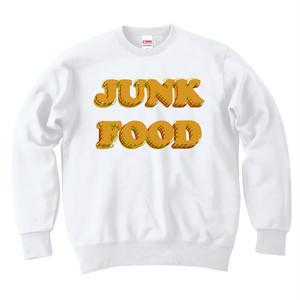 [カジュアルスウェット] JUNK FOOD 2 / White