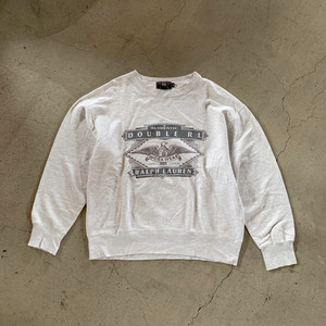 "RRL Eagle Print Sweat ""made in usa"""