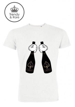 トレンディレア   Trendy & Rare T-shirt ACE GOLD White