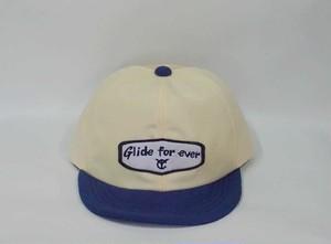 """6パネル message emblem mesh cap """"GLIDE FOREVER"""""""