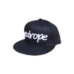 【LOGO SNAPBACK CAP】navy