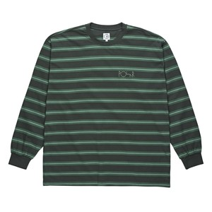 POLAR SKATE CO. 91 LONGSLEEVE GREYGREEN L ポーラー ボーダー シャツ