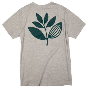 MAGENTA PLANT TEE HEATHER GREY M マゼンタ Tシャツ