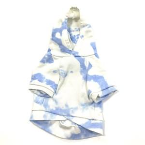Kelty ムラ染めパーカー(BLUE)