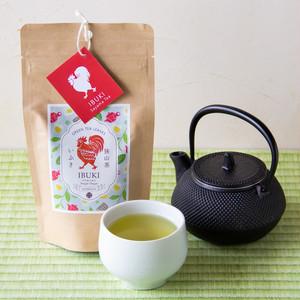 狭山茶 いぶき(100gクラフトパッケージ)/目覚めの朝に緑茶ですっきり!保管に便利なクラフトパック/SAYAMA TEA【Ibuki 100g Craft paper bag】