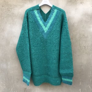 "NEON SIGN  ""mohair switch f/f sweater"""