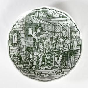 HUTSCHEN REUTHER 社 「フラシュナー」 飾り皿