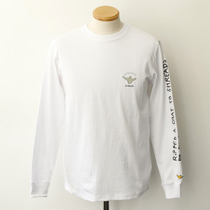 【Mark Gonzales】BACK PHOTO LS TEE (WHITE)