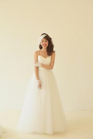 Sparkle♡キラキラチュールのドレス