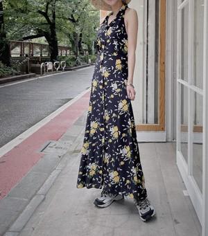 made in usa vintage floral dress